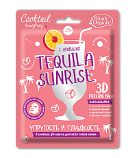 TEQUILA SUNRISE Тканевая 3D-маска для всех типов кожи лица